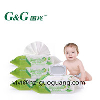 Organic Baby Wet Wipes Cleaning Wipes Tissue Skin Care