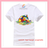Wholesale Unisex Cotton T-shirt with Customized Logo