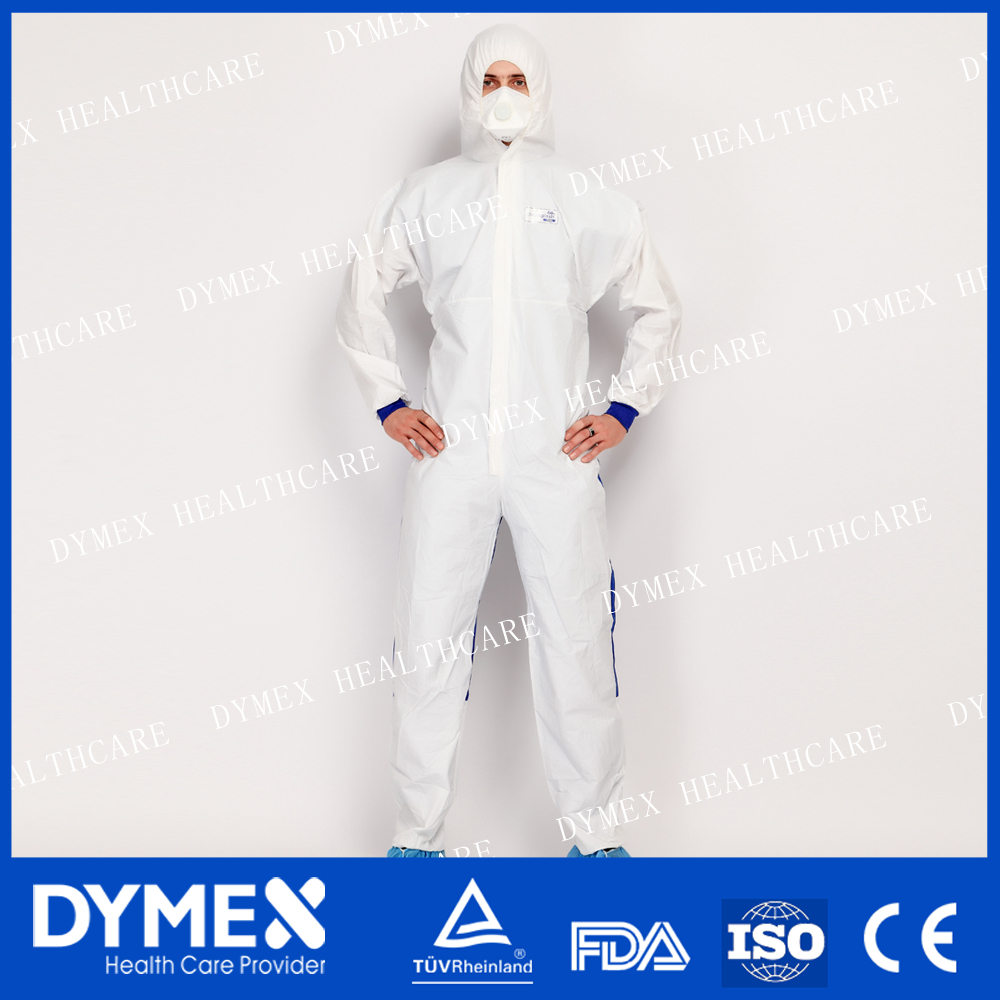 Super antistatic Protective Nonwoven Coverall