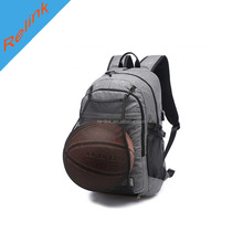 basketball outdoor USB charging backpack bag