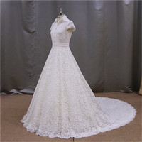 puffy princess ball gown colorful chiffon arabic wedding dress picture