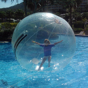 Super quality Germany Tizip human water ball,giant water walking ball,human hamster ball in pool