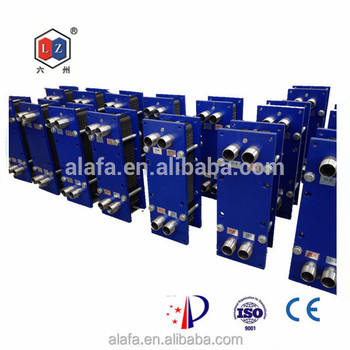 Plate type titanium heat exchanger price for food industry