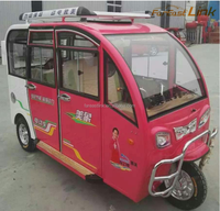 three wheels electric tricycle/ four seats electric tricycle with low price