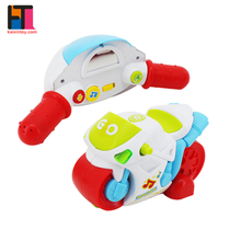 Sale cartoon light music motorcycle toy rc mini car for kids