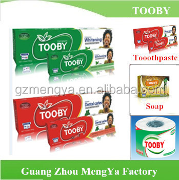 TOOBY Brand popular good quality toothpaste dispenser toothbrush