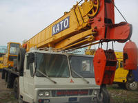 Nice truck crane kato nk400e Original japan machine cheaper than any agent we are owner of the crane nk400e