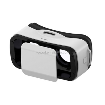 Wholesale 2016 3d googles virtual reality glasses mini vr headset box for ios/android/iphone/samsung