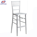 popular luxury home furniture aluminum bistro chair