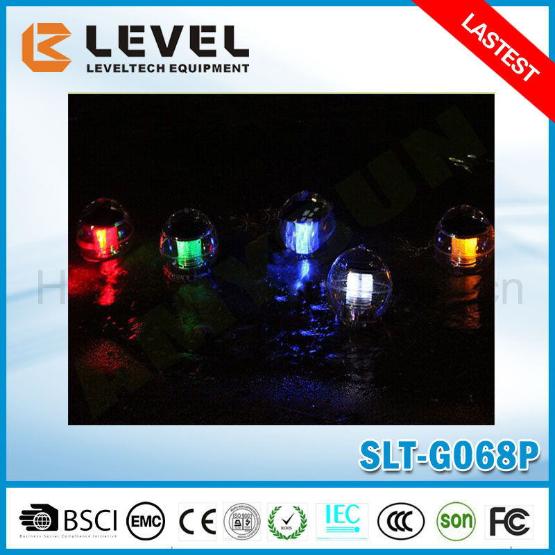 Factory Provide Plastic RGB Waterproof Underwater Floating Ball Solar Light