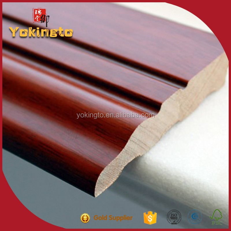 Wooden finger joint wood Quarter Round Moulding For House with Many Size