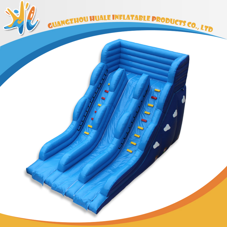 Classic Giant Inflatable Wave Slide For Swimming Pool