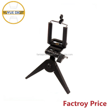 Telescopic flexible lightweight camera phone tripod stand holder