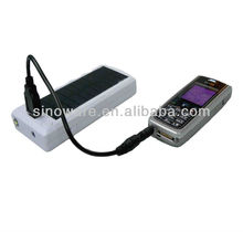 portable integrated solar reading lamp, solar mobile charger,solar power bank