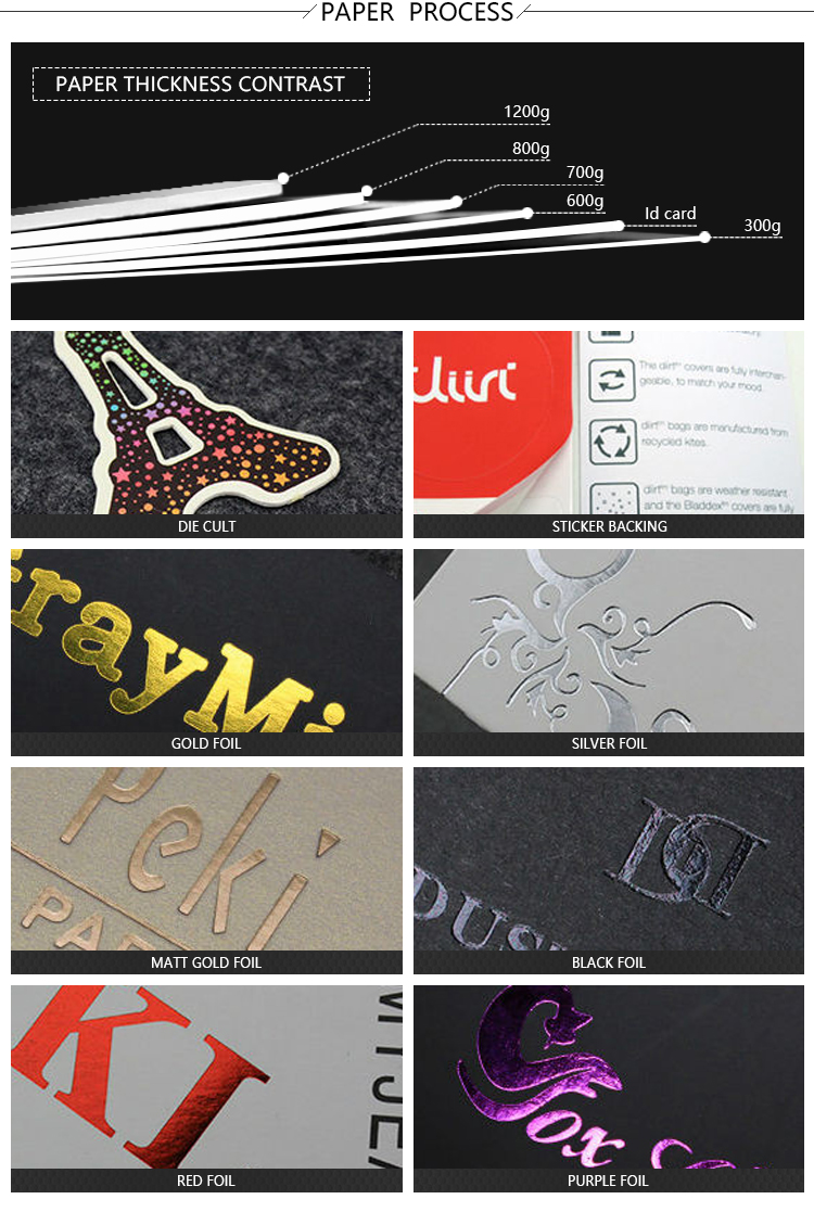 custom printed cardboard fashion emboss die cut hang tags