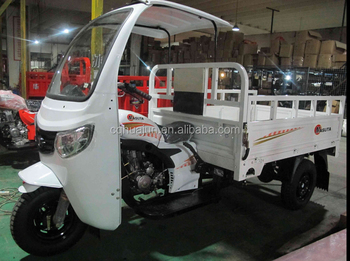New Moped Cargo Tricycle with Cabin