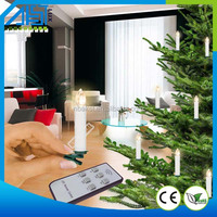 Cheapest Christmas tree LED Candle light Remote control candle with clip