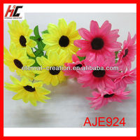 Cheap artificial flowers decoration marigold flower wedding decoration supplies in guangzhou