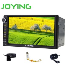 Cheap price 7'' In dash double din car stereo with usb sd/auto stereos dvd player navigation car audio system