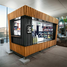 China Manufacture Mobile Container House for Coffee Shop