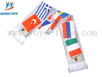 football fan scarf WITH OEKO-TEX STANDARD 100 CERTIFICATE