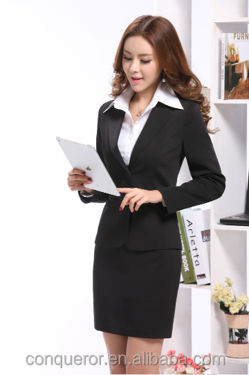 hot office ladies secretary skirt suits