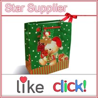 christmas paper bag, China christmas paper bag supplier