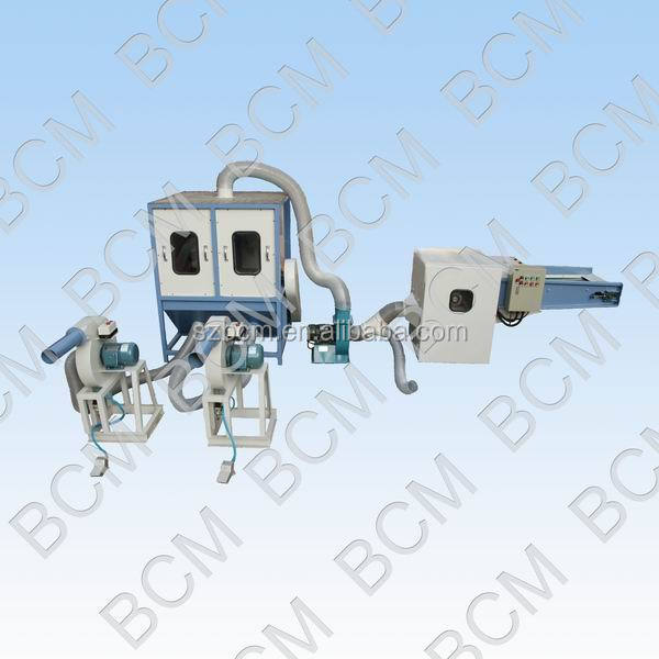 Chemical fiber opening and filling machinery