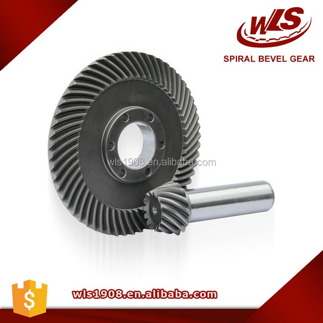 bevel gear for agricultural machine