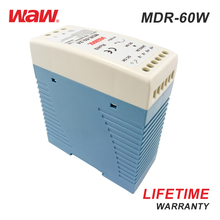 WODE 60W 12V 5A Waterproof Led Driver/Switched Mode Din Rail Power Supply