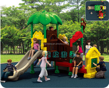 Decorative fisher price outdoor plastic playground type and plastic playground equipment