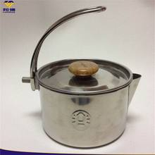 Single Wall Stainless Steel Roll Round Edge Cooking Pot Outside