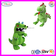 A200 Luxury Soft Green Hand Puppet Dinosaur Costume Puppet