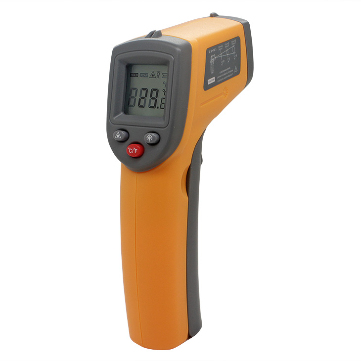 Digital IR Infrared Thermometer Non-Contact Laser LCD <strong>Temperature</strong> Meter Gun Point laser digital thermometer BENETECH GS320