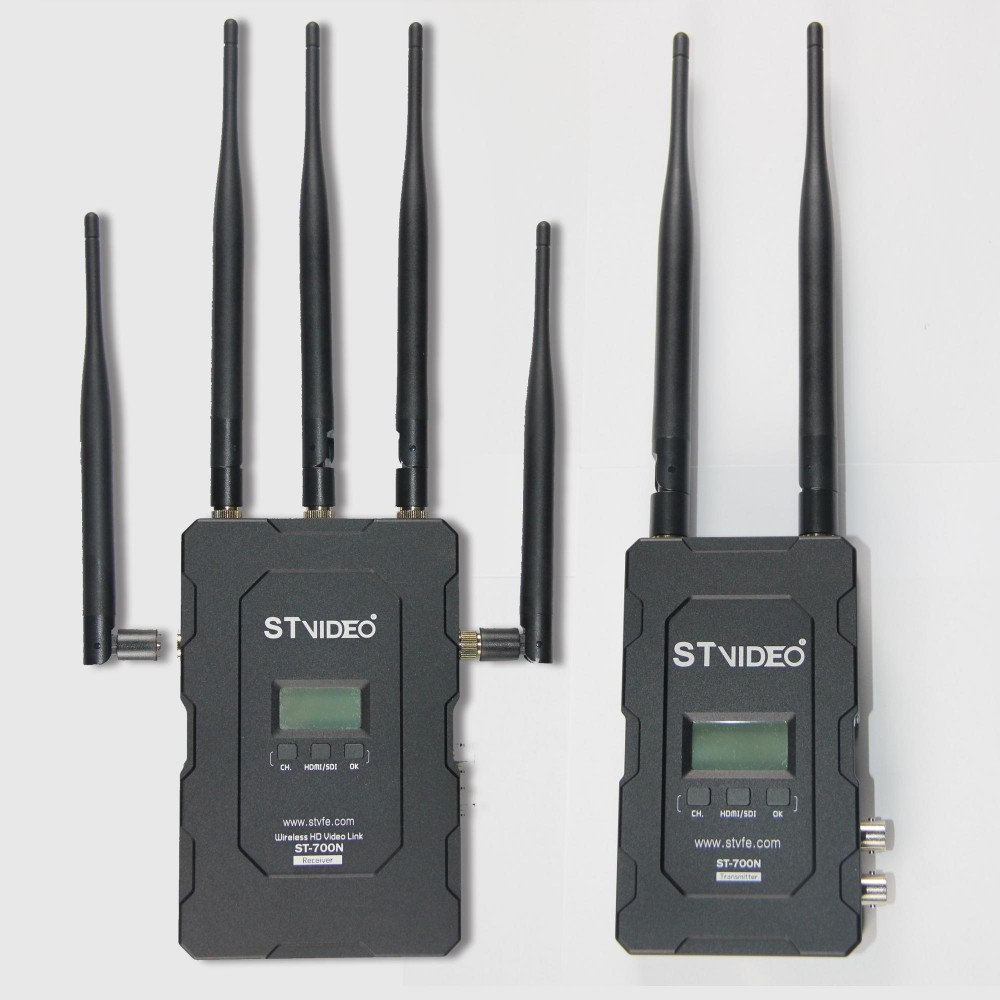 5Ghz 300m-700m range HD SDI wireless video transmitter system with sender and receiver