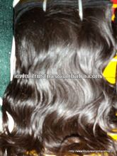 100% unprocessed virgin indian temple hair weft alibaba online