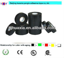 eco-friendly 0.115mm black pvc door and window adhesive tape