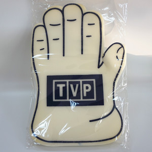 Customized football basketball game cheering foam hand finger gloves