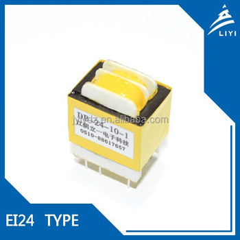 EI24 CE Certification and single phase horizontal isolation transformer from Jiangyin Manufacturer