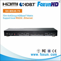 Best buy SHUNXUN SX- MX-48-70 4*4 HDBaseT HDMI Matrix 70m Over Single Cat5e/6
