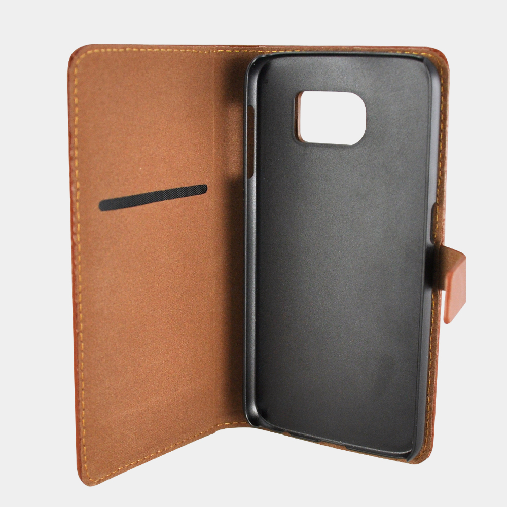 Stylish Weave Leather cell Phone Cover Case for iPhone 6s Plus Slot Card Case