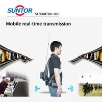 2W Cofdm NLOS Backpack Wireless Mobile Video Transmitter