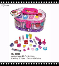 ICTI,GMPC certification vanity fassion popular beauty kids makeup kit,gift for girls