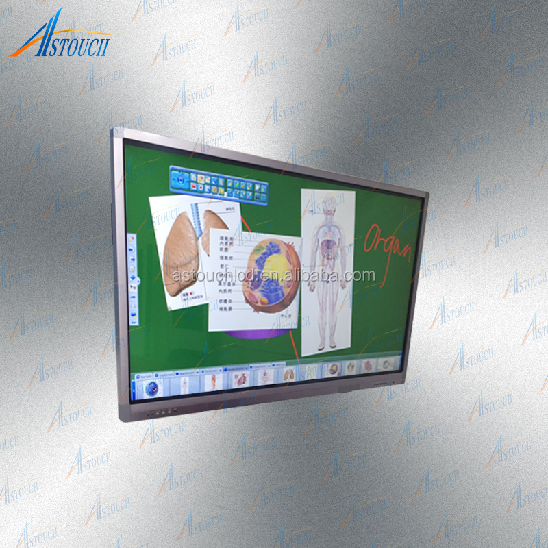 70 inches LED IR multi touch screen panel LCD interactive smart whiteboard