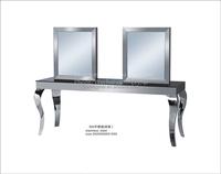 Mingmei economic stainless steel salon mirror station