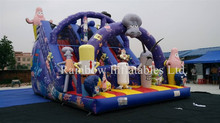 pvc material commercial inflatable slide for adult, inflatable slide for rental,inflatable slide