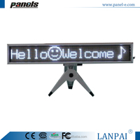 LED fair in Guangzhou,hot show item led welcome signboard