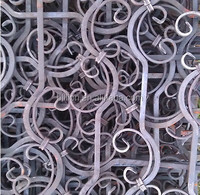 2015 new design wrought iron banister