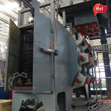 Hook Type Shot Blasting Machine with Spinner Hanger