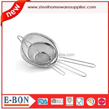 High Quality Stainless Steel Wire Mesh Basket Strainer